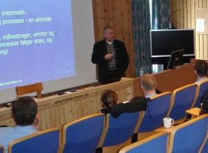 Foredrag for ledere ved Kriminalomsorgen Kongsvinger fengsel